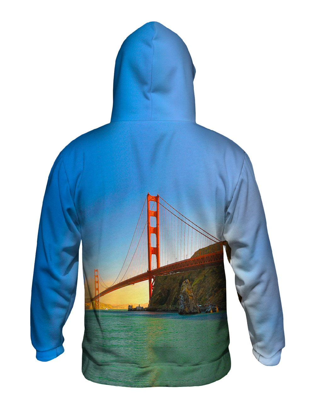 Yizzam- Still Waters Golden Gate Bridge - New    Herren Hoodie Sweater XS S M L XL 2 e403c1