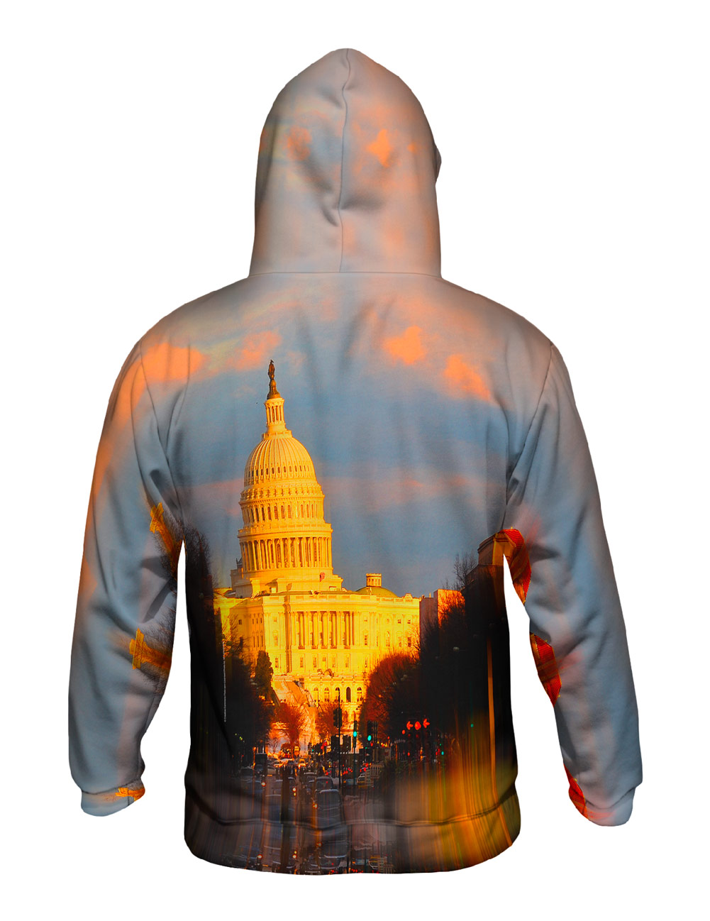 Yizzam- Us Capital Washington Dc Glow - New Mens Hoodie Sweater XS S M L XL 2XL